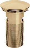 Bristan Round Clicker Basin Waste Slotted W BASIN04 G
