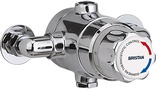 Bristan 15mm Exposed Thermostatic TMV3 Mixing Valve (No Shut Off) TS1503ECP-2000-MK