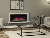 "BeModern Elyce Grande 55"" 2kw Wall Mounted Electric Fireplace 144049MC"