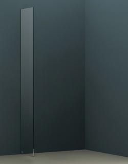Abacus Vessini X Series 490mm Wetroom Glass Panel VEGX-00-1015