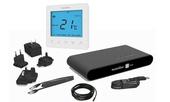 Heatmiser NeoKit-E Smart Electric Floor Thermostat - Glacier white