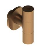 """Abacus Angled Isolation Valve 1/2"""" male x 10mm Brushed Bronze EPAC-05-2020"""