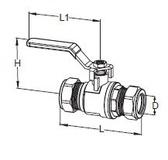 IMI 15mm Lever Valves 42150002415