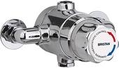 Bristan 15mm Exposed Thermostatic TMV3 Mixing Valve (No Shut Off) TS1503ECP-2000-MK