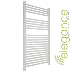 Abacus Direct Elegance Linea Towel Warmer 1700 x 400 White ELL170040WH