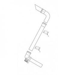 Baxi Multifit Plume Displacement Kit (Black) 720622901