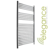 Abacus Direct Elegance Linea Towel Warmer 1120 x 480 Chrome