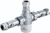 Bristan 15mm TMV3 Thermostatic Mixing Valve With Isolation MT503CP-ISO