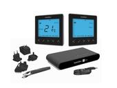 Heatmiser NeoKit 2 Heating & Hot Water Smart Thermostat - Sapphire black