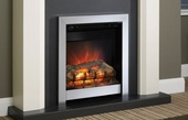 "BeModern Athena 16"" 2kw Inset Electric Fire Chrome 133701"