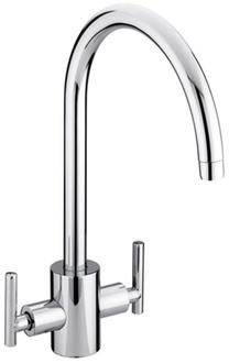 Bristan Artisan Easyfit Sink Mixer Brushed Nickel AR SNK EF BN