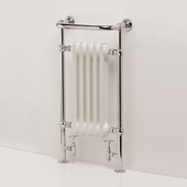 Ultraheat Buckingham Radiator 951x534 Chrome (5BE)