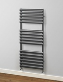 MHS Rads 2 Rails Finsbury 1200x600mm Anthracite Towel Rail FITRAN-H-120-60