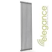 Abacus Direct Elegance Tiempo Towel Warmer 1400 x 590 Chrome