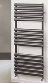 Rads 2 Rails Finsbury Electric Anthracite Towel Rail FITRAN-E-096-50
