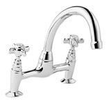 Francis Pegler Sequel Pillar Mounted Kitchen Sink Mixer 486001