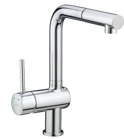 Francis Pegler Adorn Horizontal Pull Out Spout Kitchen Sink Mixer 4G4176