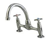 Performa Cross Top Mounted 2523 Kitchen Sink Mixer 320007