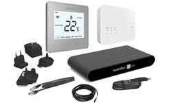 Heatmiser Smart Thermostat Kit - NeoAir Kit - Platinum silver