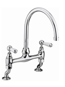 Bristan Renaissance Bridge Sink Mixer Chrome RS DSM C