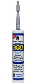 CT1 Sealant Adhesive 290ml Grey