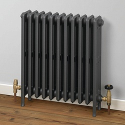 MHS Rads 2 Rails Hampstead 9 Section Radiator 635x474mm HA-635-09