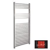 Ben De Lisi Aquila 800 x 500 Stainless Steel Designer Towel Rail