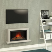 "BeModern Elyce 43"" Wall Mounted Electric Fire 144048MC"
