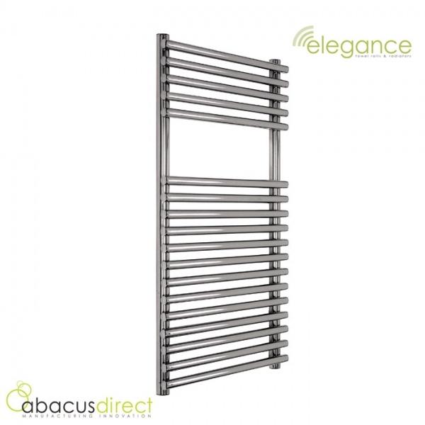 abacus direct elegance strato towel warmer 1250 x 600 chrome