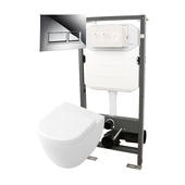 Abacus Essentials Frame & Opaz 2 Compact WC Pack 1140T ATFR-KT15-0511