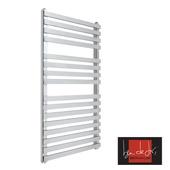 Ben De Lisi Kubik Mini 1150 x 500 Stainless Steel Designer Towel Rail
