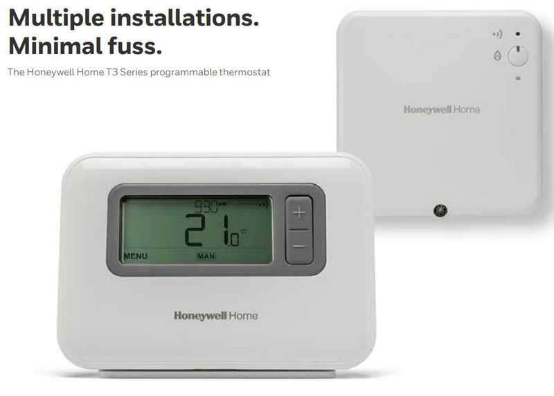Honeywell T3r Wireless Programmable Thermostat Y3h710rf0053
