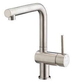 Francis Pegler Adorn Horizontal Spout Kitchen Sink Mixer Brushed Nickel 4G4177