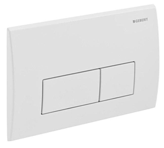 geberit kappa 50 flush plate white. Black Bedroom Furniture Sets. Home Design Ideas