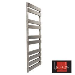 Ben De Lisi Kubik 900 x 500 Stainless Steel Designer Towel Rail