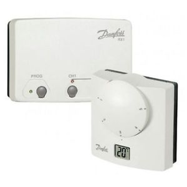 danfoss ret b rf wireless room stat inc rx 1 receiver. Black Bedroom Furniture Sets. Home Design Ideas