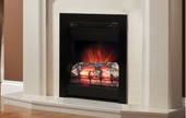"BeModern Athena 16"" 2kw Inset Electric Fire Black 13371X"