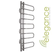 Abacus Direct Elegance Lazo Towel Warmer 1400 x 650 Chrome