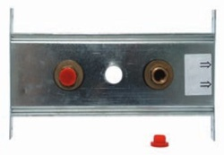"""Abacus Easiplan Double Fitting Plate 1/2"""" (EPFP-05-1005)"""