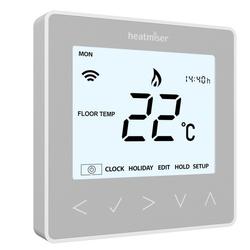 Heatmiser NeoStat Programmable Thermostat - Platinum white