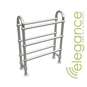 Abacus Direct Elegance Crown Designer Towel Rail 778 x 686 Chrome