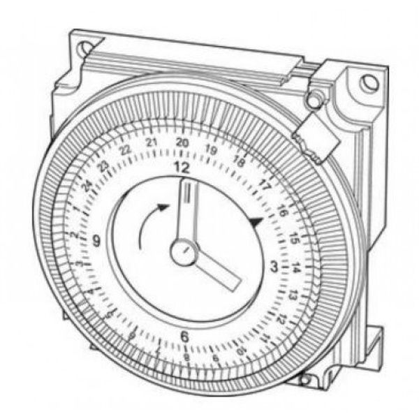 Glow Worm Ultracom2 Mechanical Clock (0020095196)