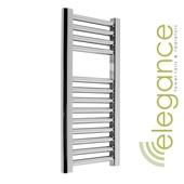 Abacus Direct Elegance Micro Linea Towel Warmer 1120 x 300 Chrome