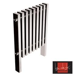 Ben De Lisi Kolonna Square 800 x 780 Stainless Steel Designer Radiator