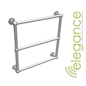 Abacus Direct Elegance Farthing Designer Towel Rail 674 x 674 Chrome