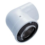 Worcester 100mm Flue 90 Degree Bend 7716191084