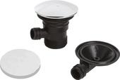 Bristan Round Clicker Bath Waste with Overflow W BATH03 C