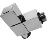 Abacus Ultima 15mm Angled Square Valve Brushed Nickel (ULRV-35-5005)