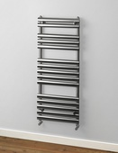 Rads 2 Rails Oval 1200x500mm Brushed Towel Rail PAB-120-H-50
