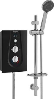 Bristan Glee Electric Shower Black 8.5Kw GLE385 B